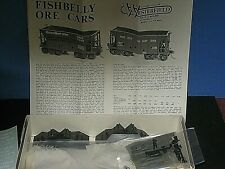 HO Vintage Westerfield Resin kit: Algoma Central 2 ore cars. C-9/ob sc