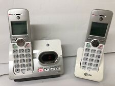 At&T El52203 Two Handset Cordless Phones with Charging Bases & Answering Machine