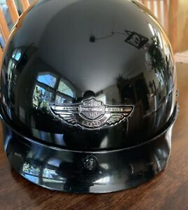 Harley Davidson 100th Anniversary 1/2 Helmet Vivid Black