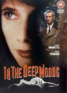 In the Deep Woods DVD 1992 Rosanna Arquette Anthony Perkins Ardythe RARE MOVIE