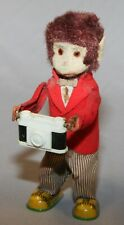 Vintage Wind Up Toy Monkey with Camera