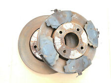 MITSUBISHI COLT RALLIART CZT CZCT - FRONT BRAKE DISCS & PADS - RECENTLY FITTED