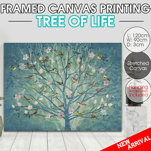 Tree of Life canvas print stretched framed Wall art home decor painting 100x70