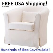 Ikea EKTORP TULLSTA Chair Armchair Cover Slipcover Blekinge White NEW! SEALED!
