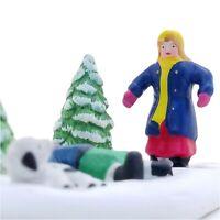 Lemax 1997 Snow Angels Village Collection #73221 Porcelain Design Cute Adorable