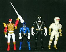 Power Rangers Action Figures Black Red Blue White Gold Bandai Soma Toy