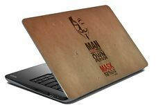 "Quotes Laptop Skin Notebook Skin Sticker Cover Art Decal Fits 14.1"" to 15.6""c9"