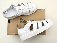 BN Dr Martens VIBAL Leather Sandals White 9 43 Guaranteed Genuine