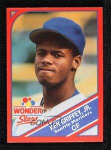1990 Wonder Stars Food Issue Ken Griffey Jr #18 HOF