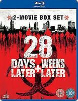 28 Days Later Más 28 Weeks Later Nuevo Blu-Ray Región B
