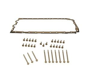 🔥Reinz Oil Pan Gasket with CRP Aluminum Bolt Kit For BMW N54 N55 X6 435i M4🔥