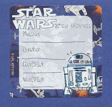10 Star Wars I've Grown - Height and Weight - Large Stickers - Rewards