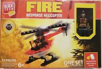 BLOCK TECK FIRE RESPONSE HELICOPTER AND FIGURE NEW