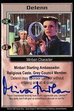 Babylon 5 Ccg Mira Furlan Severed Dreams Delenn Autographed