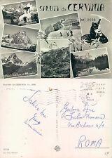 SALUTI DA CERVINIA -  VALLE D'AOSTA - VEDUTINE VARIE  (rif.fg..2955)