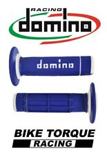 CCM 404 DS Trail Domino Diamond Waffle Grips Blue / White