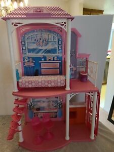 """VTG Mattel """"BARBIE TWO STORY BEACH HOUSE Set (Incomplete) COMES DISASSEMBLED"""