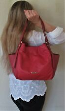$1680. authentic BURBERRY London SHOULDER PURSE Canterbury COUTURE TOTE Leather