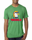Merica Eagle Mullet 4th of July Patriotic American Pride Mens Tri Blend T-Shirt