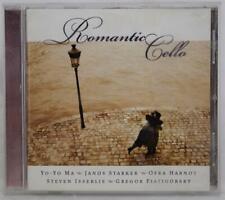 Romantic Cello Yo-Yo Ma Janos Starker Ofra Harnoy + CD NM-MINT
