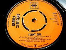 """BARBRA STREISAND - FUNNY GIRL  7"""" VINYL"""
