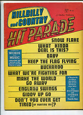Hit Parade #38 Hillbilly And Country  Jim Reeves Buck Owens Eddy Arnold MBX102