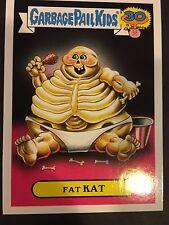 Garbage Pail Kids 2015 Series 2 30th Fat Kat Kids Sticker NrMt-Mint