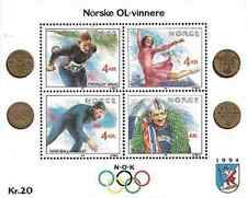 Timbres Sports d'hiver JO Norvège BF14 ** lot 8698
