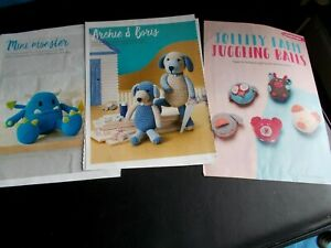 3 Crochet Patterns for Toys