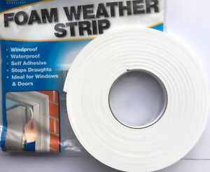 Draught Excluder Foam Strip Tape Draft Window Insulator Self Adhesive,To Stick