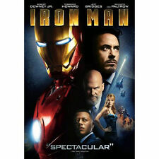 Iron Man (Single-Disc Edition), New DVD, Terrence Howard, Jeff Bridges, Gwyneth