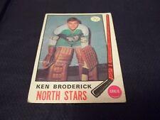 1969-70 OPC O-Pee-Chee #197 Ken Broderick Rookie North Stars - vg-