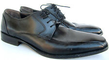 Perry Ellis Black Leather Lace Up Shoes Size 12 Med