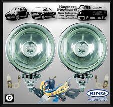 Volkswagen Käfer T1 Klassisch Chrom Fahrlicht Spot-lampen Mit Verdrahtung Set