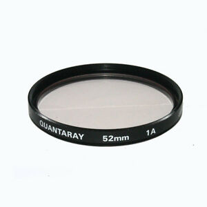 Used Quantaray 52mm 1A Lens Filter Made in Japan Boxed Mint 6201071/6201077