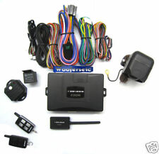 Z-202AS ZENESIS 2 WAY FM SECURITY CAR ALARM +REMOTE ENGINE STARTER COMBO NEW