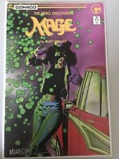 Mage The Hero Discovered (1985) #12 Signed by Matt Wagner NM Near Mint