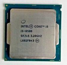 Intel Core i5 6500 CPU 3.2GHZ Quad Core Processor LGA1151 6 M fino a 3.60GHZ