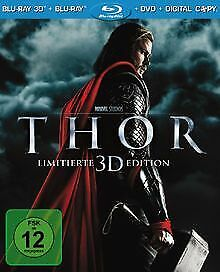 Thor (+ Blu-ray 3D + DVD) [Blu-ray] [Limited Edition...   DVD   Zustand sehr gut