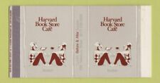 Matchbox - Harvard Book Store Cafe Boston MA