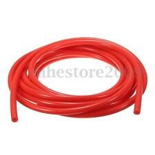 4mm Silicone Vacuum Hose Tube Silicon Tubing Line Pipe 16.4ft 5M 5 Meters Red