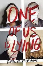 ONE OF US IS LYING - MCMANUS, KAREN M. - NEW HARDCOVER BOOK