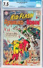 Brave and the Bold #54 CGC 7.5 DC 1964 1st Teen Titans! Batman! Flash! G1 121 cm