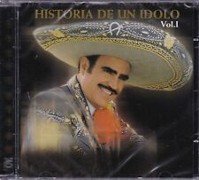 Vicente Fernandez Historia de un Mexicano Vol  1 CD New Sealed Nuevo