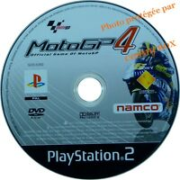 MOTO GP 4 - jeu video de courses motos pour console sony PS2 PlayStation 2 pal