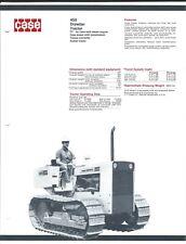 Equipment Brochure - Case - 450 - Drawbar Tractor - Crawler - c1969 (E3818)