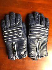 Men's K2 Leather Gloves Mitts Mittens Vintage Ski Snow Blue OG OOAK Beauties