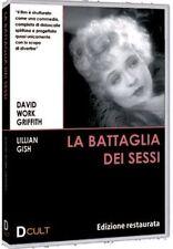 Dvd **LA BATTAGLIA DEI SESSI** Ediz. Restaurata di David W.Griffith nuovo 1928