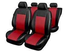 Ford Sierra  Universal Kunstleder Rot Sitzbezüge Schonbezüge Sitzbezug