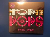 TOP. OF. THE. POPS.        1985. -  1989.           THREE COMPACT DISC BOXSET.